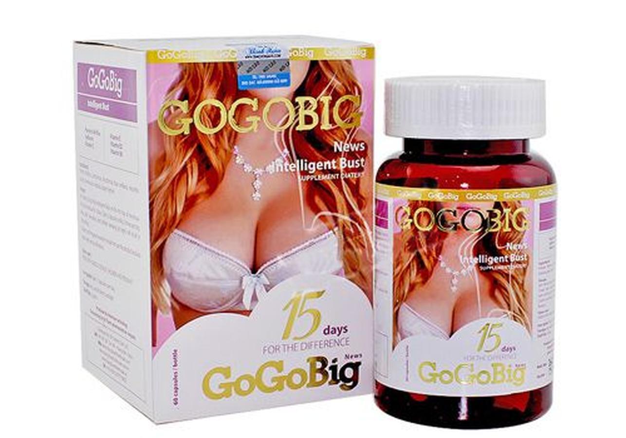 Viên uống nở ngực Gogobig (Nhật Bản)