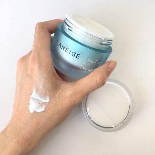 Kem Dưỡng Trắng Da Laneige White Dew Tone-Up Cream 50ml 3