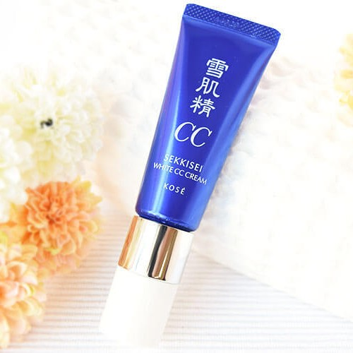 Ken nền trang điểm CC Kose Sekkisei White Cream SPF50+/PA++++