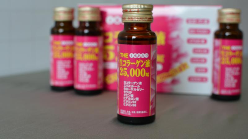 Collagen Inter Techno 25000mg bổ sung collagen tự nhiên giúp chống lão hóa da, xương