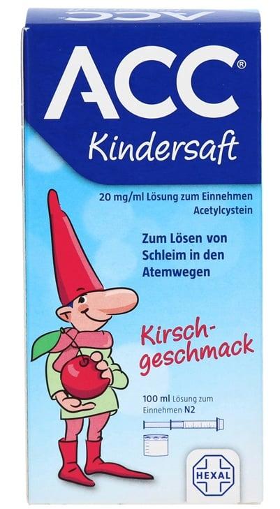 Siro ho long đờm ACC Kindersaft 100ml của Đức 1