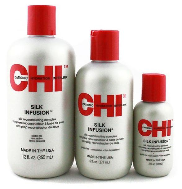 Tinh dầu dưỡng tóc Chi Silk Infusion của Mỹ 1