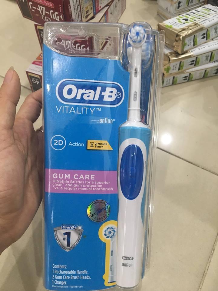 Bàn chải đánh răng điện Oral-B Vitality Braun 2