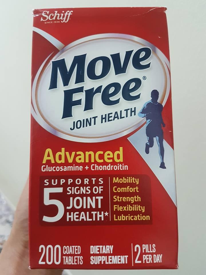 Bổ Khớp Schiff Move Free Advanced Triple Strength