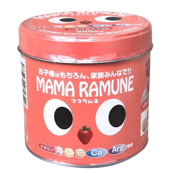 Kẹo cho trẻ biếng ăn Mama Ramune Nhật Bản 1