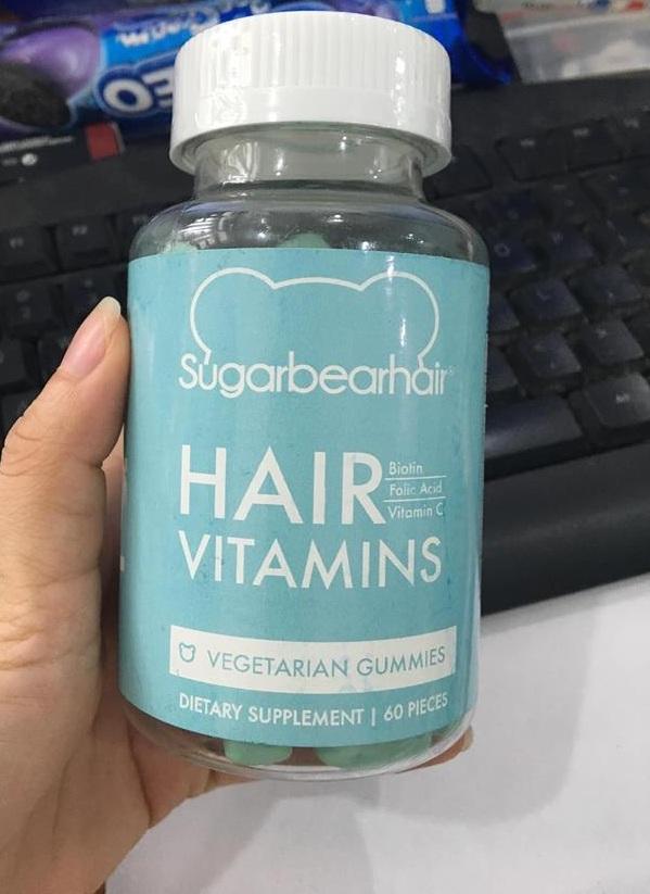 Kẹo Gấu Sugar Bear Hair – Kích thích mọc tóc nhanh 1