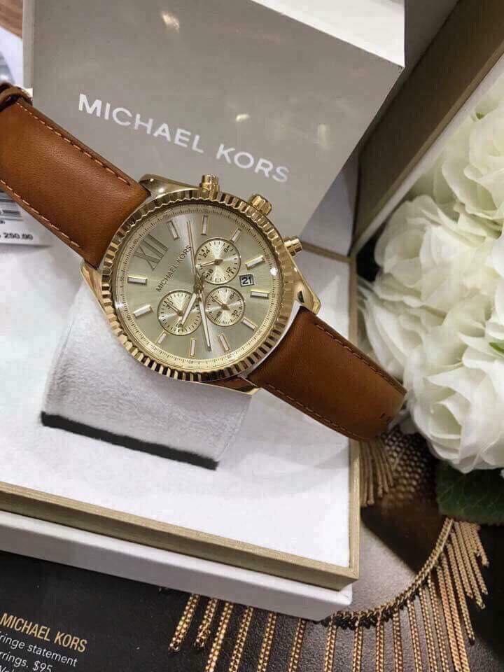 Cận cảnh chiếc đồng hồ Michael Kors nam MK8447