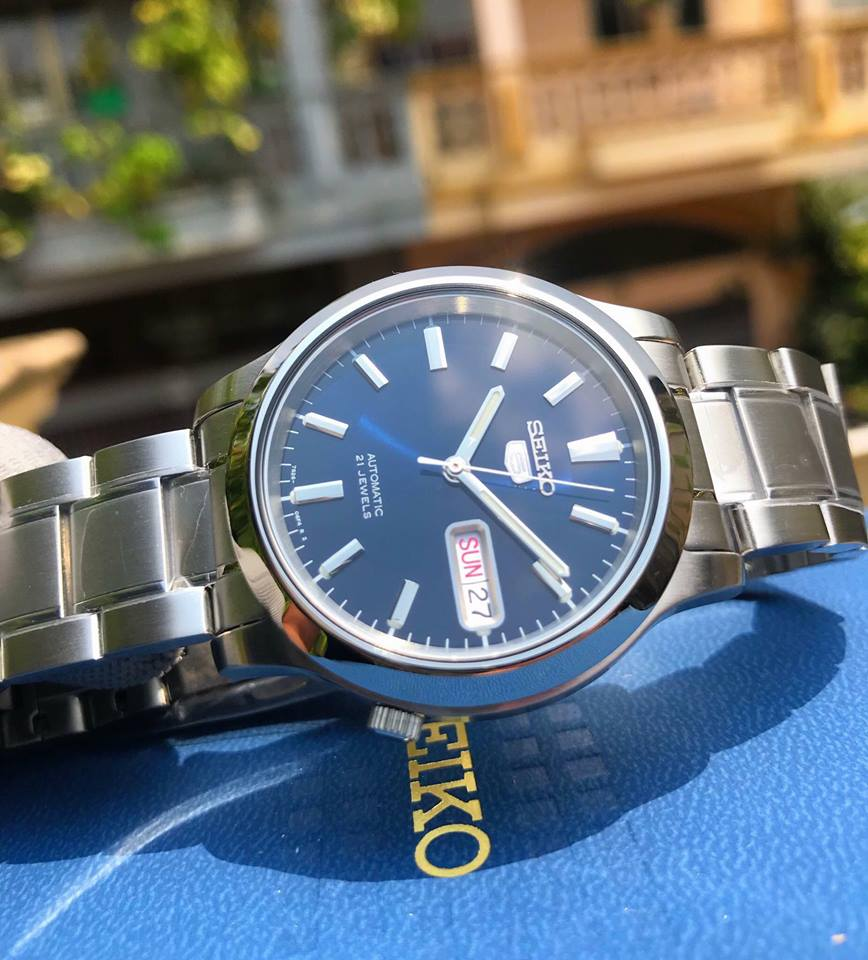 Đồng hồ nam Seiko 5 Automatic SNK793 1