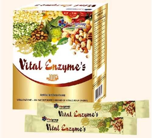 Viên uống thanh lọc cơ thể Enzymes Vital 1
