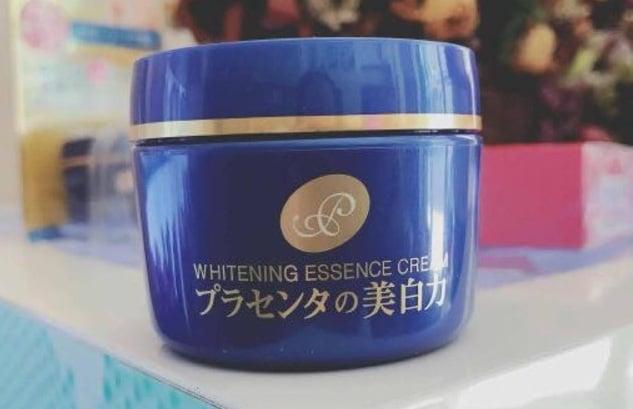 Kem dưỡng trắng da Meishoku whitening essence cream Placenta 1