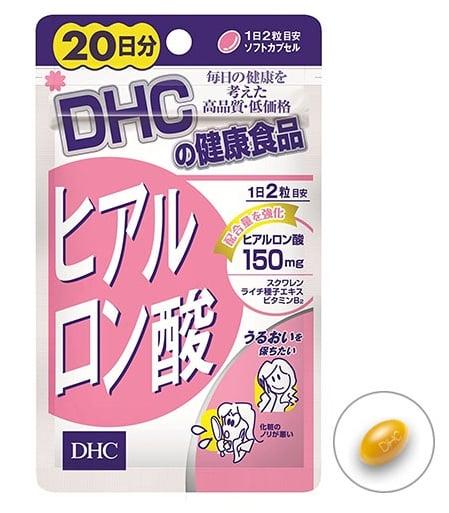 Viên uống cấp nước DHC Hyaluronic Acid Nhật Bản 1