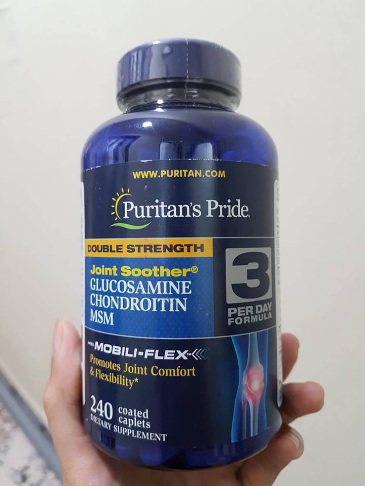 Glucosamine Chondroitin MSM Puritan's Pride 1