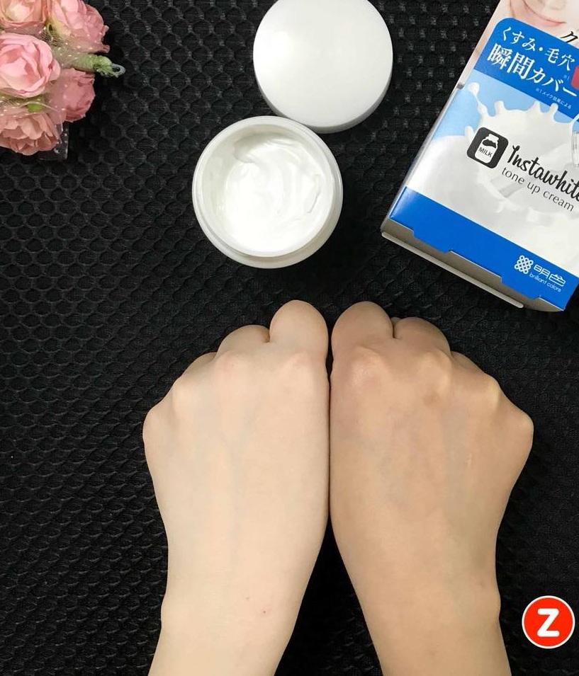 Kem Dưỡng Trắng Da Meishoku Instawhite Tone Up Cream vân shop