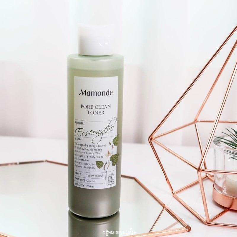 Nước hoa hồng Mamonde Pore Clean Toner trị mụn, se khít lỗ chân lông 1