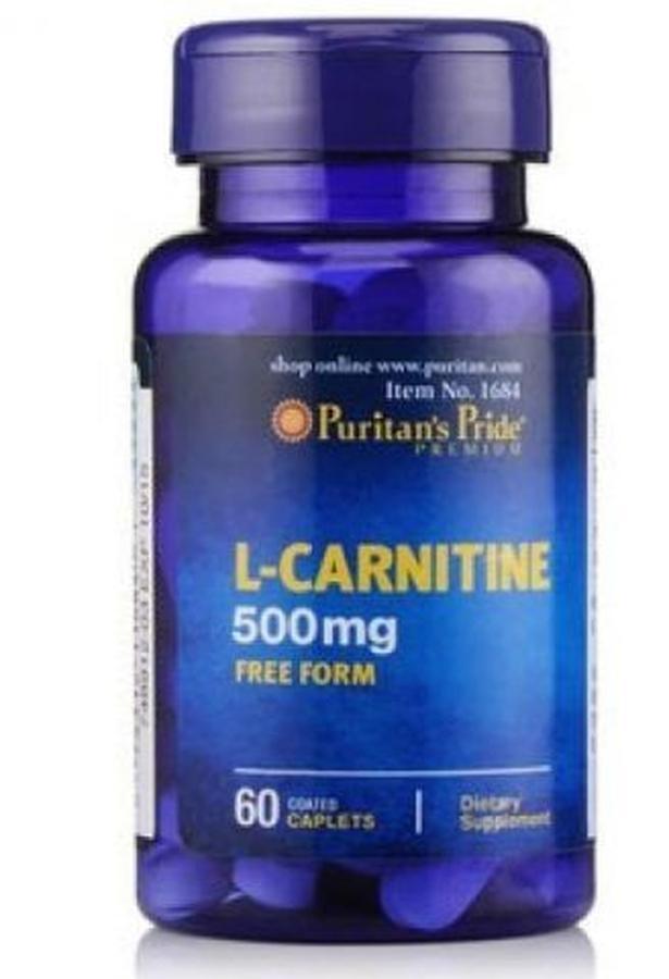 Viên giảm cân L-Carnitine 500 mg Puritan's Pride 1