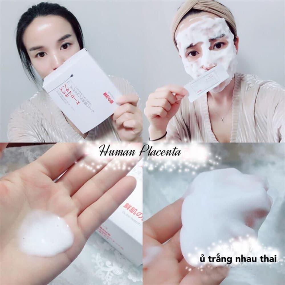 Mặt Nạ Ủ trắng da Nhau thai Human Placentex Extract 2