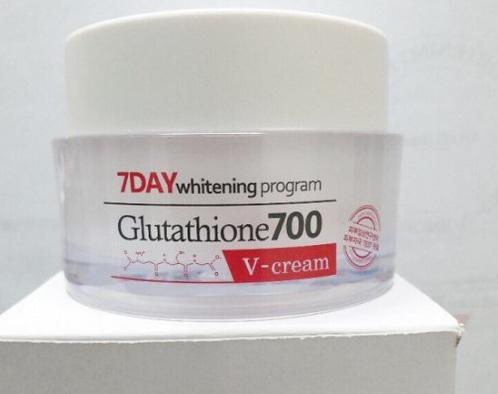 7Day Whitening Program Glutathione 700 V-Cream - Kem dưỡng trắng da 1
