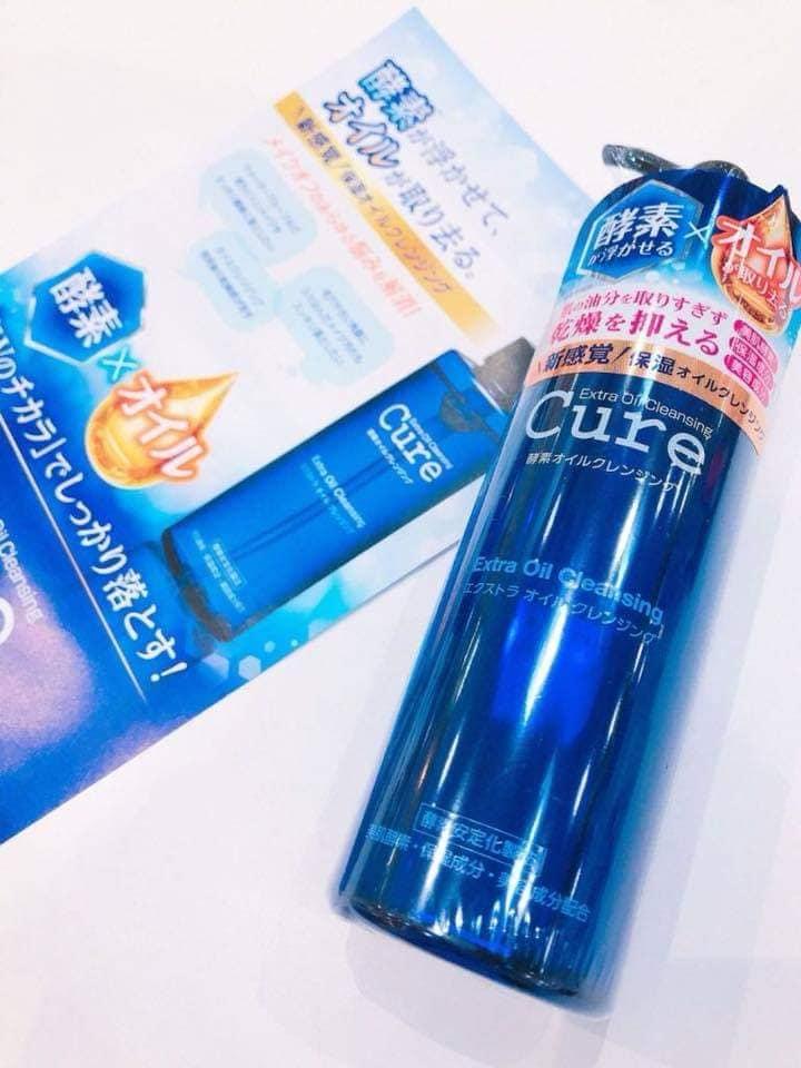 Cure Extra Oil Cleansing - Dầu tẩy trang Nhật Bản 1