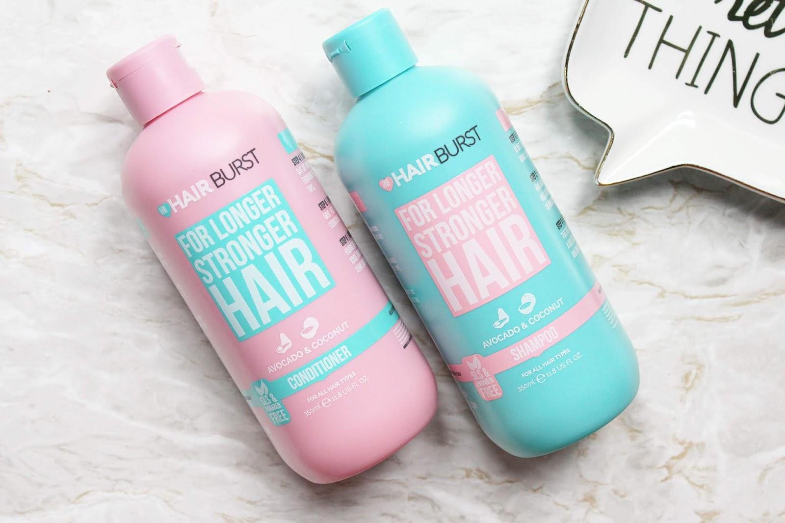 Bộ Dầu Gội Dầu Xả HairBurt For Longer Stronger 1