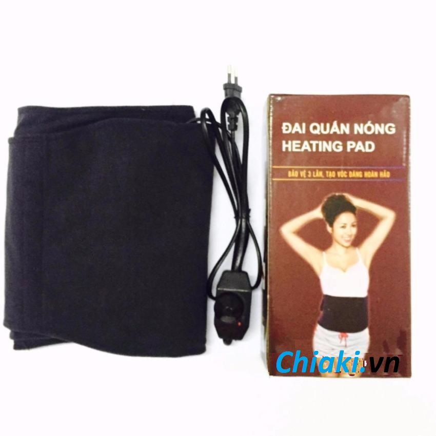 Đai quấn nóng Heating Pad giảm mỡ bụng (bảo hành 6 tháng) 1