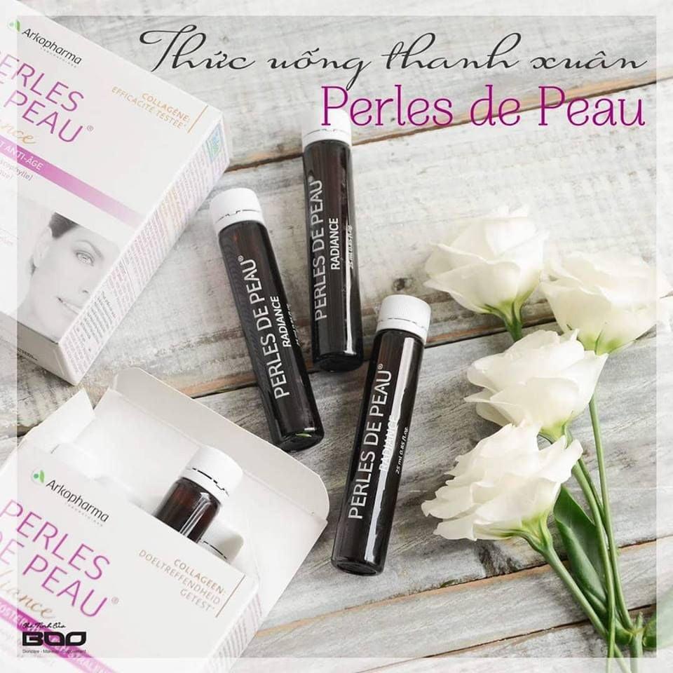 Collagen Perles De Peau Radiance - Nước Uống Làm Đẹp Da của Pháp 2