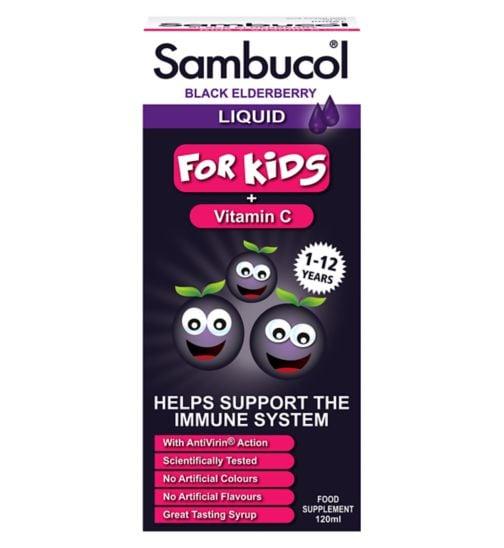 Siro Sambucol tăng sức đề kháng cho trẻ từ 1-12 tuổi 2
