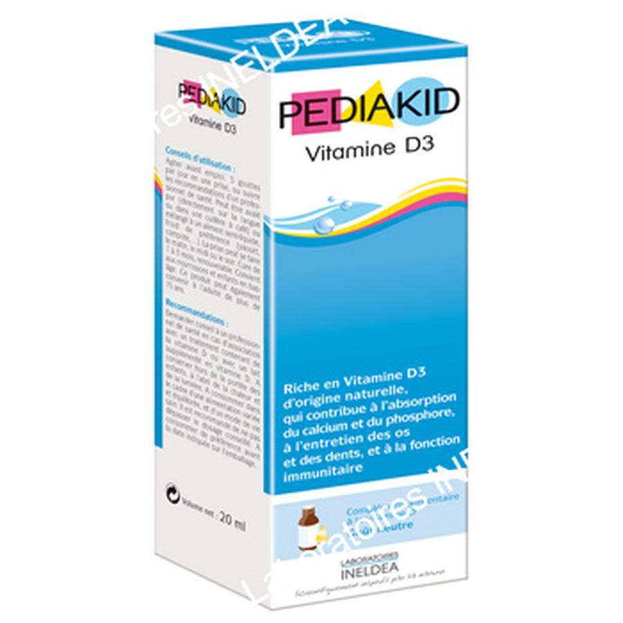 Pediakid Vitamin D3 cho bé (hàng nội địa Pháp, 20ml) 1