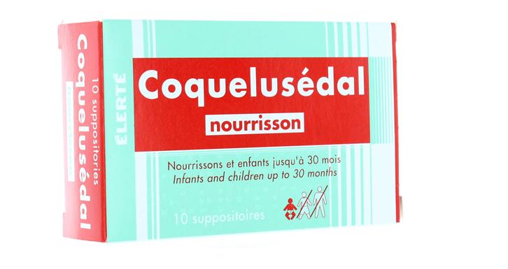 Viên đặt Coquelusedal cho trẻ từ sơ sinh tới 30 tháng 1