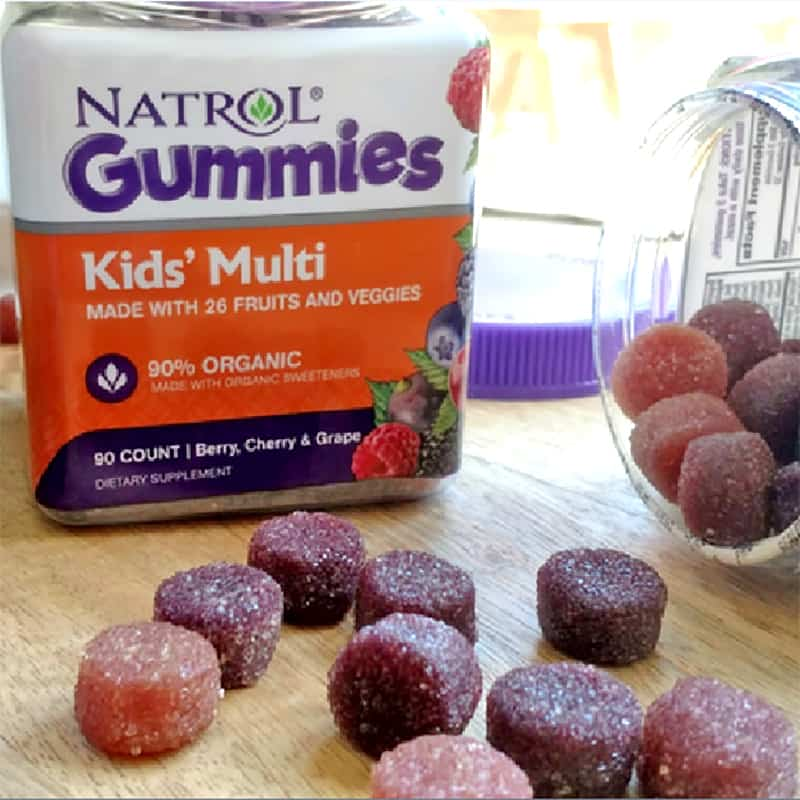 Kẹo dẻo Natrol Gummies Kids' Multi cho bé 1