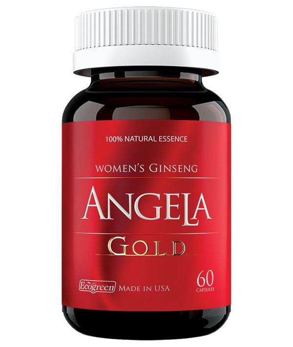 Sâm Angela Gold tăng cường sinh lý nữ, làm đẹp da
