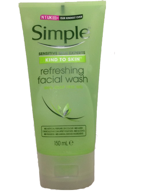 Sữa rửa mặt Simple Kind to Skin Refreshing Facial Wash 1