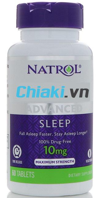 Natrol 10mg - Viên uống của Mỹ 60 viên 2