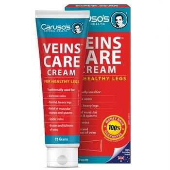 Carusos Veins Care Cream - Kem Hỗ Trợ Chăm Sóc Tĩnh Mạch Của Úc