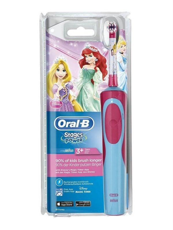 Bàn chải điện Oral-B Stages Power Princess cho bé gái (Đức) 1
