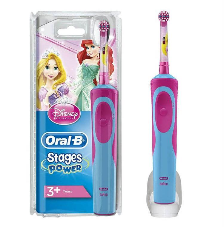 Bàn chải điện Oral-B Stages Power Princess cho bé gái (Đức) 2