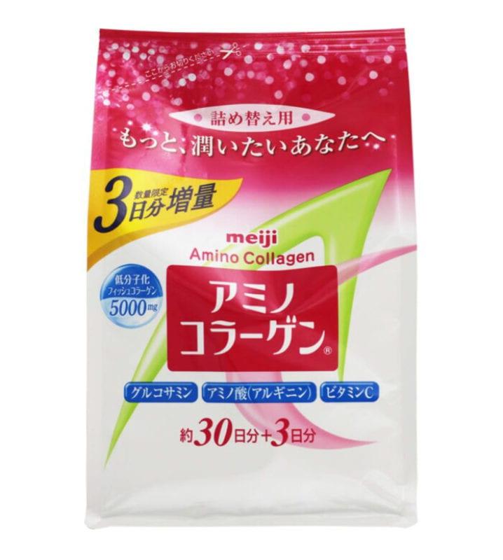 Bột Meiji Amino Collagen cho phụ nữ dưới 40 tuổi 2