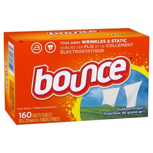 Giấy thơm quần áo Bounce của Mỹ (160 tờ) 1