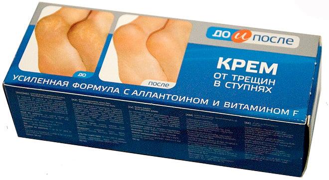 Kem hỗ trợ cải thiện nứt gót chân Kpem Apteka của Nga 50ml 3