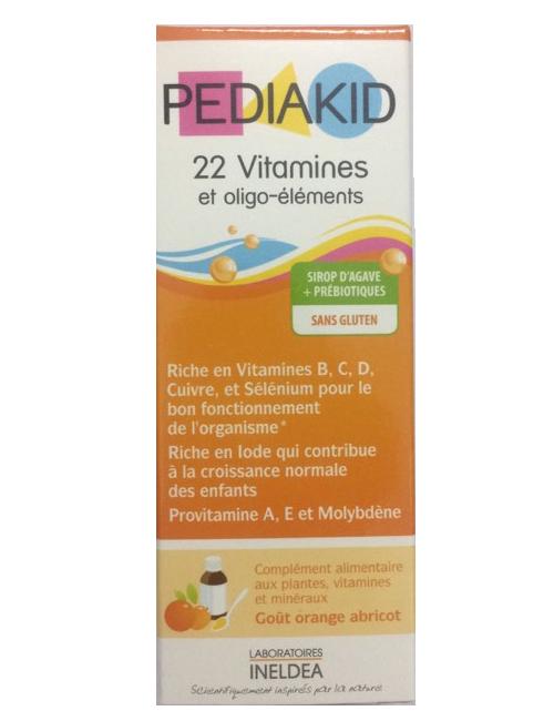Pediakid 22 Vitamines của Pháp dùng cho trẻ từ 6 tháng trở lên