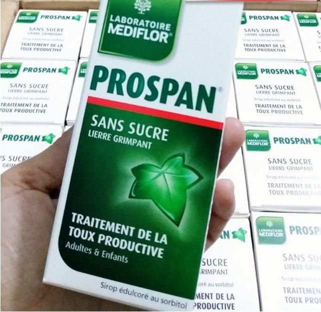 Siro ho Prospan của Pháp 100ml cho trẻ sơ sinh