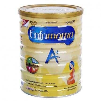 Sữa bầu Enfamama DHA 900g chính hãng