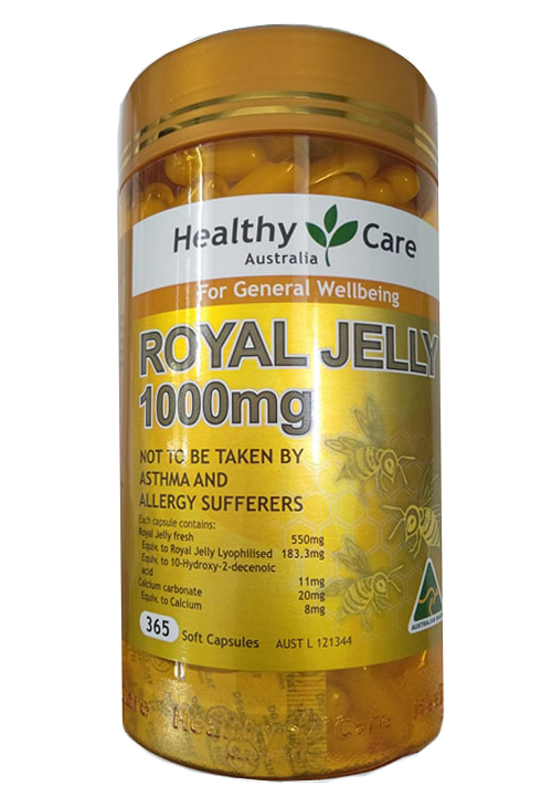 Sữa ong chúa Healthy Care Royal Jelly 1000 2