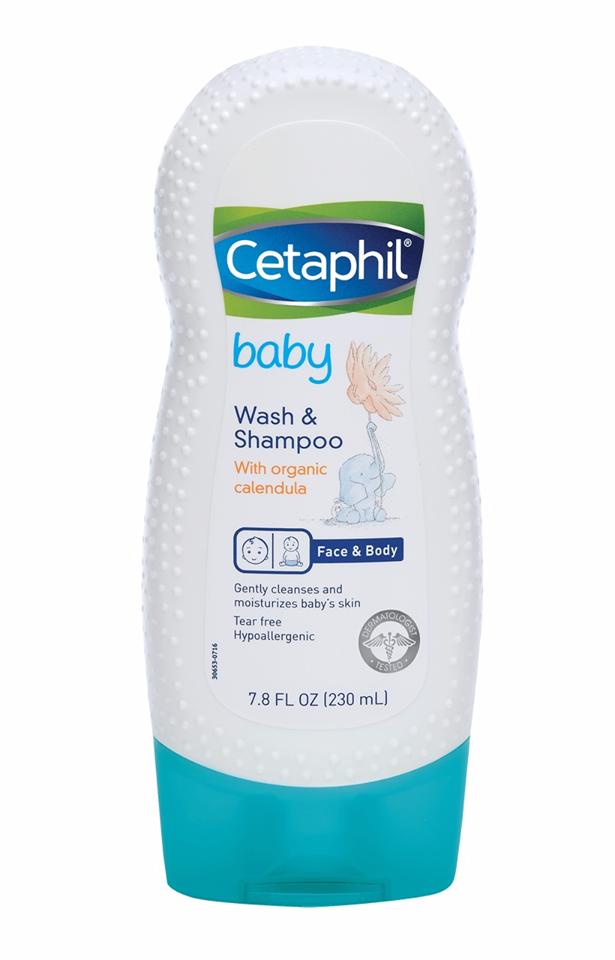 Sữa tắm, gội toàn thân Cetaphil cho bé 230ml 1