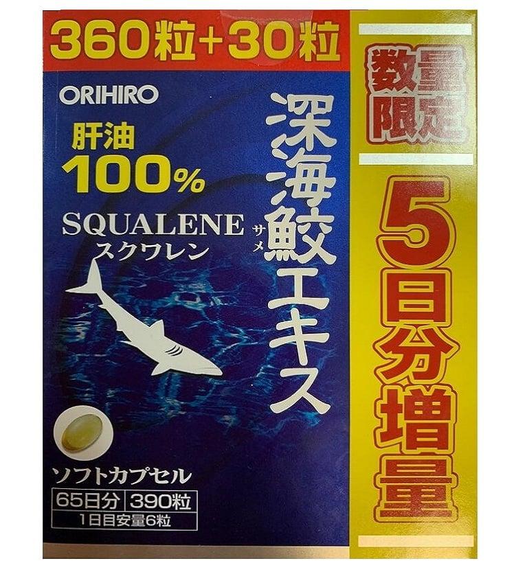 Sụn vi cá mập Squalene Orihiro Nhật Bản 3