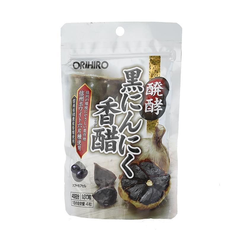 Tỏi đen Orihiro Nhật Bản chính hãng hộp 180 viên 2
