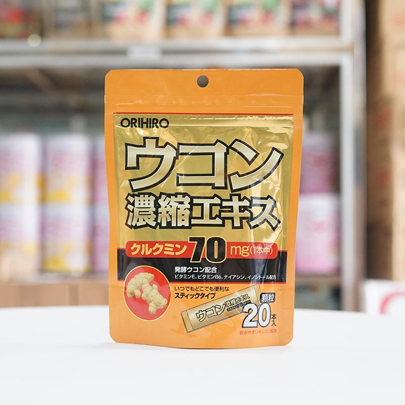 Bột nghệ giải rượu Orihiro Nhật Bản 20 gói 2