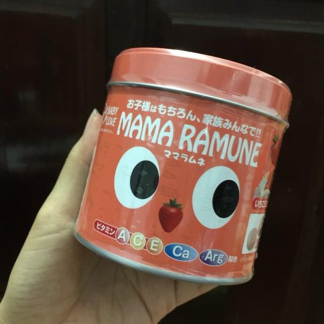 Kẹo Mama Ramune cho trẻ em chính hãng của Nhật Bản 2