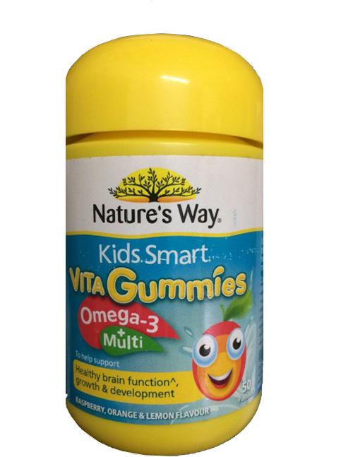 Kẹo Vita Gummies Omega3 Và Vitamin Tổng Hợp Của Nature's Way