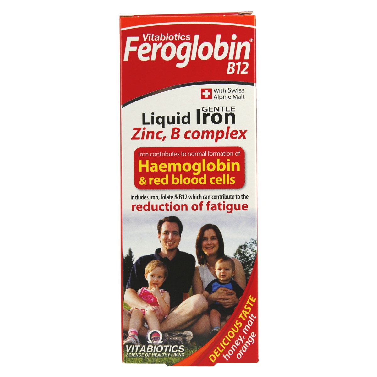 Siro bổ sung sắt Feroglobin B12 từ Anh 2