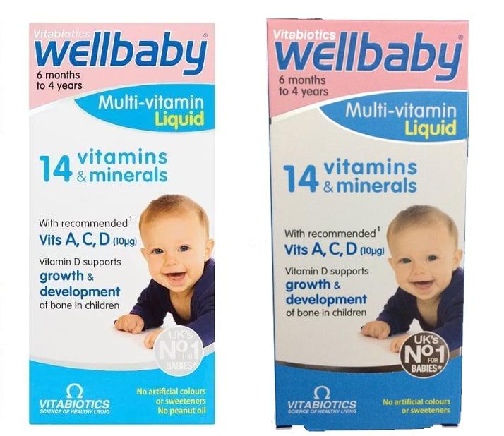 Wellbaby - Vitamin tổng hợp cho bé chính hãng của Anh 1